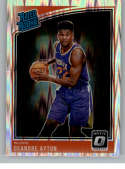 2018-19 Donruss Optic Shock Basketball #157 Deandre Ayton Phoenix Suns Rated Rookie  Official NBA Trading Card Produced By Panini