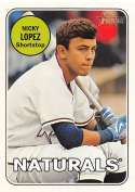 2018 Topps Heritage Minor League Baseball Team Colors Change #76 Nicky Lopez SER/25 Northwest Arkansas Naturals  Official MILB Trading Card
