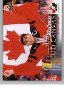 2018-19 Upper Deck Canvas Hockey Series Two #C267 Dillon Dube Team Canada Program Of Excellence Official UD NHL Hockey Card