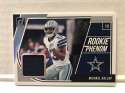 2018 Donruss Rookie Phenom Jerseys Football #24 Michael Gallup Jersey/Relic Dallas Cowboys  Official NFL Trading Card From Panini Blue Swatch