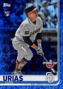 2019 Topps Opening Day Blue Foil Baseball #138 Luis Urias San Diego Padres  Official MLB Trading Card