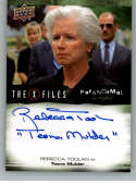 2019 Upper Deck X-Files UFOs and Aliens Paranormal Script Autographed Inscriptions NonSport #A-RT Rebecca Toolan Auto Au Official Entertainment Tradin