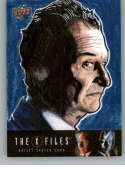 2019 Upper Deck X-Files UFOs and Aliens Sketch Cards NonSport #NNO Lloyd Mills (Smoking Man)  Official Entertainment Trading Card From UD