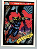 1990 Impel Marvel Universe NonSport Trading Card #37 Wolverine