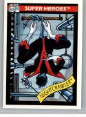 1990 Impel Marvel Universe NonSport Trading Card #38 Nightcrawler