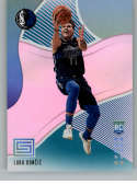 2018-19 Status Aqua Basketball #122 Luka Doncic Dallas Mavericks Rookies 1  Panini Fat Pack Exclusive Parallel NBA Trading Card