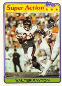 1981 Topps Football #202 Walter Payton Chicago Bears  Official NFL Trading Card in EX-MT or better Condtion