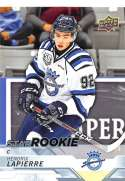 2018-19 Upper Deck CHL Hockey #330 Hendrix Lapierre Chicoutimi Sagueneens Star Rookies Short Print Official Canadian Hockey League Trading Card from U