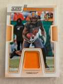 2019 Score Collegiate Jersey Football #20 Alvin Kamara Jersey/Relic Tennessee Volunteers  Official NFL Trading Card From Panini
