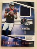 2019 Score Home and Away (Home) Football Jersey #9 Deshaun Watson Houston Texans  Official NFL Trading Card From Panini