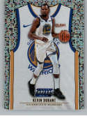 2018-19 Panini Threads Association SP Dazzle Basketball #132 Kevin Durant Golden State Warriors  Official Parallel NBA Trading Card