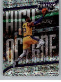 2018-19 Panini Threads High Octane Dazzle Basketball #5 LeBron James Los Angeles Lakers  Official NBA Insert Parallel Card From Panini