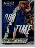 2018-19 Panini Threads Our Time Dazzle Basketball #15 Luka Doncic Dallas Mavericks  Official NBA Insert Parallel Card From Panini