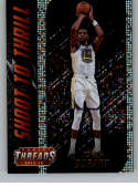 2018-19 Panini Threads Shoot to Thrill Dazzle Basketball #13 Kevin Durant Golden State Warriors  Official NBA Insert Parallel Card From Panini