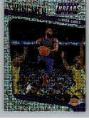 2018-19 Panini Threads Swingmen Dazzle Basketball #2 LeBron James Los Angeles Lakers  Official NBA Insert Parallel Card From Panini