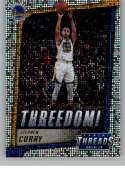 2018-19 Panini Threads Threedom Dazzle Basketball #2 Stephen Curry Golden State Warriors  Official NBA Insert Parallel Card From Panini