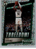 2018-19 Panini Threads Threedom Dazzle Basketball #3 Kyrie Irving Boston Celtics  Official NBA Insert Parallel Card From Panini
