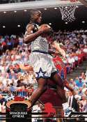 1992-93 Stadium Club Basketball #247 Shaquille O'Neal RC Rookie Card Orlando Magic  Official NBA Trading Card From Topps