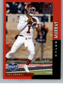 2019 Score NFL Draft Red Football #9 Kyler Murray Oklahoma Sooners  Official NFL Trading Card From Panini