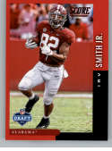 2019 Score NFL Draft Red Football #13 Irv Smith Jr. Alabama Crimson Tide  Official NFL Trading Card From Panini