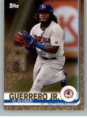 2019 Topps Pro Debut Gold Baseball #1 Vladimir Guerrero Jr. SER/50 Buffalo Bisons  Official MiLB Minor League Trading Card