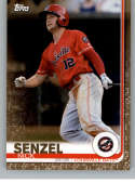 2019 Topps Pro Debut Gold Baseball #60 Nick Senzel SER/50 Louisville Bats  Official MiLB Minor League Trading Card