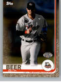 2019 Topps Pro Debut Gold Baseball #117 Seth Beer SER/50 Tri-City ValleyCats  Official MiLB Minor League Trading Card