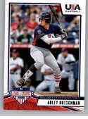 2019 Panini Stars and Stripes Hobby Baseball #9 Adley Rutschman USA Baseball Collegiate National Team Official USA Tradi
