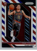 2018-19 Prizm Red White and Blue Prizms Basketball #78 Trae Young Atlanta Hawks RC Rookie Official NBA Trading Card From