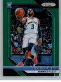 2018-19 Prizm Green Prizms Basketball #76 Jevon Carter Memphis Grizzlies RC Rookie Official NBA Trading Card From Panini