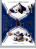 2018-19 SP Authentic Hockey #131 Brett Hull/Vladimir Tarasenko SER/199 Official NHL Trading Card From Upper Deck (UD) Fr