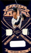 2019 Leather and Lumber Leather/Lumber Jerseys Baseball #16 Max Kepler Jersey/Relic Minnesota Twins