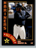 2019 Topps 1984 Topps All-Stars Black Baseball Series Two #84AS-KG Ken Griffey Jr. SER/299 Seattle Mariners Official MLB