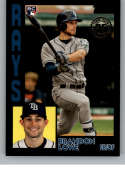 2019 Topps 1984 Topps Rookies Black Baseball Series Two #84R-BL Brandon Lowe SER/299 Tampa Bay Rays Official MLB Trading