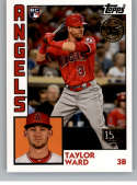2019 Topps 1984 Topps Rookies 150th Anniversary Baseball Series Two #84R-TW Taylor Ward SER/150 Los Angeles Angels Offic