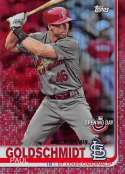 2019 Topps Opening Day Red Foil Baseball #94 Paul Goldschmidt St. Louis Cardinals Official MLB Trading Card