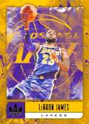 2018-19 Court Kings International Basketball #67 LeBron James Los Angeles Lakers Official Blaster Exclusive NBA Trading