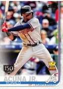 2019 Topps 150th Anniversary Baseball #1 Ronald Acuna Jr. Atlanta Braves  Official MLB Trading Card By Topps