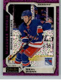 2018-19 O-Pee-Chee Platinum Violet Pixles Hockey #178 Neal Pionk New York Rangers Official NHL Trading Card From Upper D