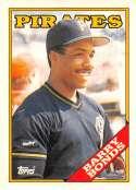 1988 Topps Tiffany Baseball #450 Barry Bonds Pittsburgh Pirates Official MLB Premium Trading Card