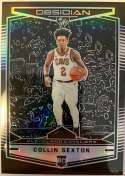 2018-19 Chronicles Obsidian Preview Basketball #573 Collin Sexton Cleveland Cavaliers Official NBA Trading Card From Pan
