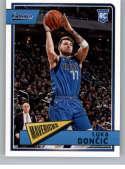 2018-19 Chronicles Classics Basketball #645 Luka Doncic Dallas Mavericks Official NBA Trading Card From Panini America R