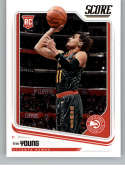 2018-19 Chronicles Score Basketball #673 Trae Young Atlanta Hawks Official NBA Trading Card From Panini America Rookie C