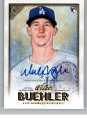 2018 Topps Gallery Autographs Baseball #141 Walker Buehler Auto Autograph Los Angeles Dodgers Official MLB Trading Card