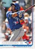 2019 Topps Short Print Variations Baseball #NNO Vladimir Guerrero Jr. Toronto Blue Jays Official MLB Trading Card