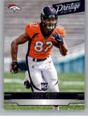 2019 Prestige Rookies Football #208 Noah Fant RC Rookie Card Denver Broncos Official Retail NFL Trading Card From Panini