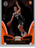 2018-19 Certified Mirror Orange Basketball #167 Donte DiVincenzo SER/99 Milwaukee Bucks Official NBA Trading Card From P
