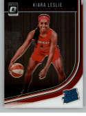 2019 Donruss WNBA Optic Basketball #91 Kiara Leslie Washington Mystics Rated Rookie Official WNBA Trading Card From Pani
