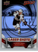 2019-20 Upper Deck MVP Laser Shots Red Hockey #S-4 Patrick Kane Chicago Blackhawks Official NHL Trading Card From UD