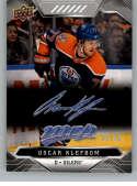 2019-20 Upper Deck MVP Super Script Hockey #148 Oscar Klefbom SER/25 Edmonton Oilers Official NHL Trading Card from UD